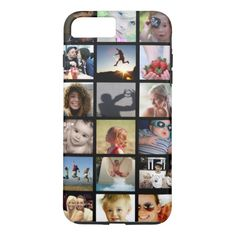 Shop Customer Photo Collage iPhone 6 Case (Case-Mate) created by StyledbySeb. Iphone 7 Plus Cases, Cell Phone Cases, Photo Collage Iphone, Apple Iphone, Iphone 6, Thanksgiving Gifts, Plastic Case, Prints, Ipads