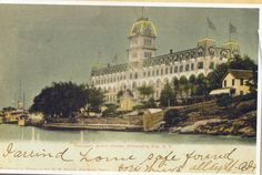 The Thousand Islands Alexandria Bay, Thousand Islands, Taj Mahal, Hotels, Building, Travel, Painting, Vintage, Viajes