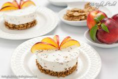 Torta fredda allo yogurt pesche e cereali, ricetta | Ho Voglia di Dolce