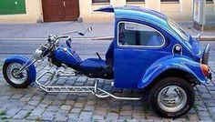 VW Half Bike.. Half Car..