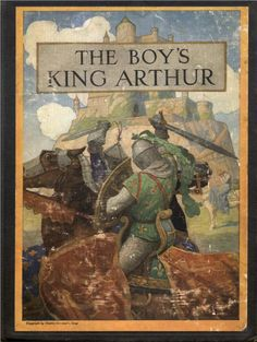 Cover of The Boy's King Arthur, 1922