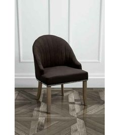 Kariss Black Upholstered Occasional Chair