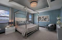 Satori: Executive Estates Collection New Home Community - Miami Lakes - Miami, Florida Bedroom Colors, Bedroom Decor, Bedroom Ideas, Relaxing Master Bedroom, Master Bedrooms, Miami, Florida, Girl House, New House Plans
