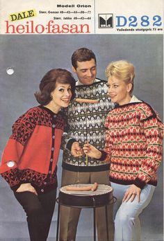 Dale Orion 282 Norwegian Knitting, Ski Sweater, Vintage Ski, Color Combinations, Norway, Christmas Sweaters, Knitting Patterns, Colour, Classic