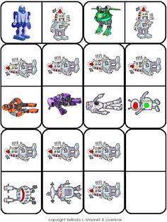 Album - Google+ Robot Theme, Preschool Classroom, Digi Stamps, Line Drawing, Board Games, Google, Free Printables, Maths, Album