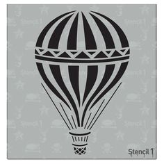 This easy-to-use Hot Air Balloon Small Stencil from is perfect for walls, home decor, clothing and more. Each stencil is cut high quality in order to provide a long lasting design. The possibilities of what you can create with a stencil are endless. Create And Craft, Detail Art, Space Crafts, Stencil Designs, Hot Air Balloon, Balloon Party, Fantasy Girl, Wall Murals, Coloring Pages