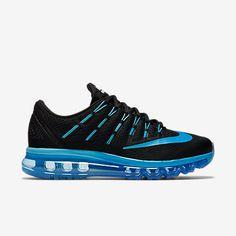 NEW ! Swarovski Nike Black/Deep Royal Blue Women's Nike Air Max 2016 Blinged with SWAROVSKI® Crystals