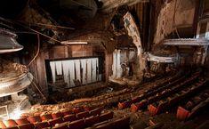 Abandoned Theater - Newark, New Jersey