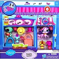 NEW Littlest Pet Shop Trendy Shopping Sweeties Playset with LPS Zoe Trent Cocker Spaniel Dog Hasbro Toys at http://www.bonanza.com/listings/Littlest-Pet-Shop-Trendy-Shopping-Sweeties-Playset-with-LPS-Zoe-Trent-Spaniel/154811765