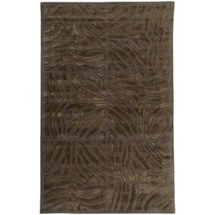 @Overstock.com - Candice Olson Hand-tufted Brown Zebra Animal Print Divine  Wool Rug (5' x 8') - Hand-tufted of wool, this Candice Olson rug exudes sophistication with its unique animal pattern. Shades of brown and chocolate enhance the hand-carved details of this floor rug.  http://www.overstock.com/Home-Garden/Candice-Olson-Hand-tufted-Brown-Zebra-Animal-Print-Divine-Wool-Rug-5-x-8/5713976/product.html?CID=214117 Add to cart to see special price