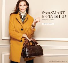 Shop Talbots sale clothing, apparel, suits, dresses, shoes and accessories.