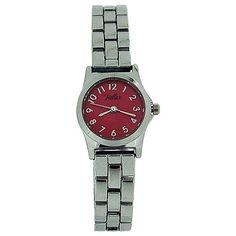 Reflex Ladies Analogue Pink Dial Silver Tone Metal Bracelet Strap Watch LB104 Metal Bracelets, Women Brands, Fashion Watches, Cool Watches, Bracelet Watch, Gifts For Her, Quartz, Lady, Silver