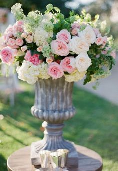 Gorgeous arrangement for wonderful parties and events... or just because.