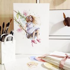 ✨🌸 #worldofartists#watercolorpainting#artwork#watercolor#watercolour#waterblog#aquarelle#art#artist#arts_help#art_gallery#art_we_inspire#topcreator#girls#misha_illustration#illustration#inspiration#inspiring_watercolors#drawing#painting#вдохновение#акварель#иллюстрация