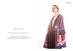 dress Basia Olearka kimono Maiko Free Soul, Kimono Top, African, Woman, Spring, Tops, Dresses, Fashion, Vestidos