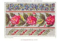 Gallery.ru / Фото #4 - 11 - kento Charts, Tableware, Gallery, Home Decor, Album, Border Tiles, Roses, Needlepoint, Flowers