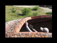 Doing the mortar for Catalan vaults, why they don't fall - YouTube