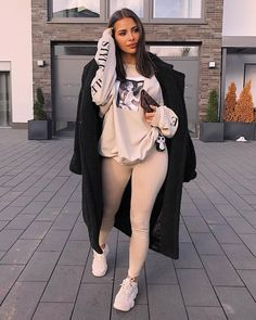 "a2c8f17bcb Missy Empire on Instagram  ""Do it in style 🖤 🔍 Search  Jen Beige Style  File Graphic Jumper (£24) 💕 Tag  missyempire    missygirls to be featured  just ..."