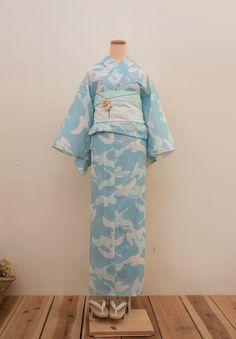 綿絽夏着物(浴衣) ニルス - 浴衣と夏きもの さく研究所浴衣と夏きもの さく研究所