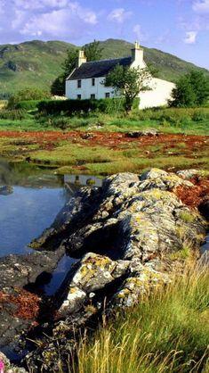 Dornie,  Ross-shire, Highlands, Scotland