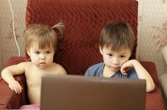 Does a parent's educational background influence their child's exposure to electronic media?