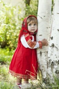 Little Russian girl #Russia #girl #girl #tradition