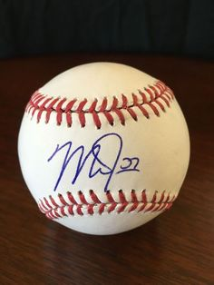 Autograph Baseball Gallery · Mike Trout Truly is the MAN !  ) Love watching  him play Mike Trout 88a7b76d1d8