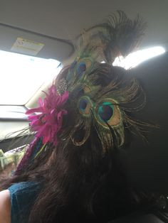 Left side view of hair accessories