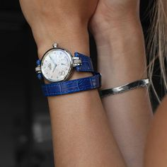 Deep blue and double strap... our new collection LC6 for women coming soon ! Coming Soon, Deep Blue, Bracelets, Accessories, Collection, Women, Fashion, Swiss Watch