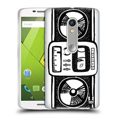Head Case Designs Radio Sketch Hand Drawn Gadgets Soft Gel Case for Motorola Moto X Play -- Click image for more details. (Note:Amazon affiliate link) #CellPhonesAccessories