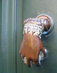 Door Knocker by chez loulou, via Flickr