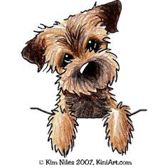 Dog Caricature Oil Painting For Sale
