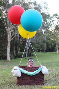 Up, up & Away Kids Party Theme