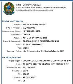 BLOG DO SARAIVA: Globo tenta explicar a sonegação
