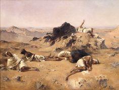 Eugène Fromentin, Au pays de la soif (1869)  Guerre de décolonisation