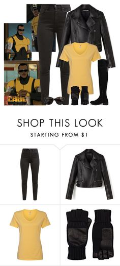"""Luke Cage"" by fashion-nova ❤ liked on Polyvore featuring Levi's, Hanes, Barneys New York, ALDO and Max&Co."