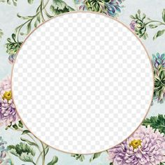 Vintage china aster flower frame design element | free image by rawpixel.com / manotang Background Designs, Background Vintage, Border Templates, Card Templates, Image Fun, Free Image, Aster Flower, Flower Backgrounds, Border Design