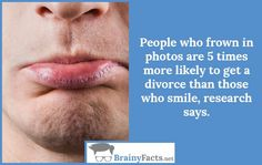 Life Facts : People who frown | did you know