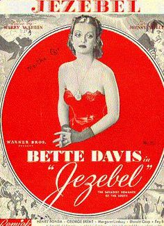 Bette Davis looking petulant and gorgeous in Jezebel