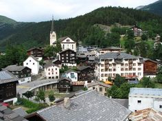 Fiesch, Switzerland, site of the 1974 Nazarene World Youth Conference.