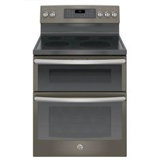 JB860EJES GE Slate 30  Double Oven Electric Range