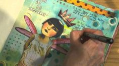 Art Journaling 2 ~ There Are NO Mistakes in Art - Inspired to Make - YouTube