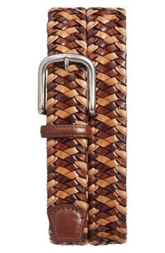 Free shipping and returns on Torino Belts Woven Leather Belt at Nordstrom.com. Woven, multihued strips of waxed Italian leather define a stylish, American-made belt fitted with a satin-finish buckle.