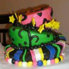 Wacky tacky cake