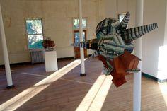 Patrick Wilson's fractured architectural sculptures