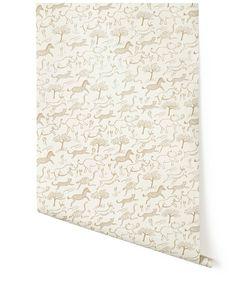 SAFARI Wallpaper - Taupe