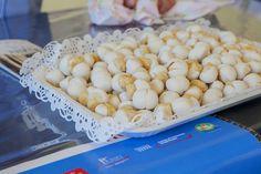 """Degustazione funghetti e chichì ripieno di Offida - """"Ciborghi, Festival delle cucine regionali dei Borghi più belli d'Italia"""" ad """"Anghiò 2014"""""""