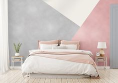 Rose Gold and Silver metallic paint for only at The Range have just what you need to decorate your room in just… Girl Bedroom Walls, Bedroom Colors, Room Decor Bedroom, Girl Room, Girl Bedrooms, Bedroom Ideas, Bedroom Wall Designs, Silver Bedroom, Decorate Your Room