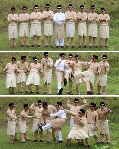 the groom & the groomsmen. a malay wedding. afnan omar photography