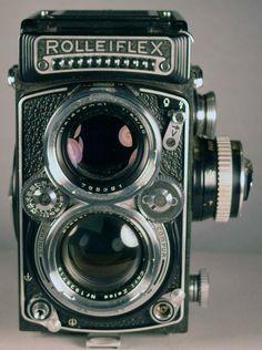 Rolleiflex 2.8 E Twin Lens Reflex Camera